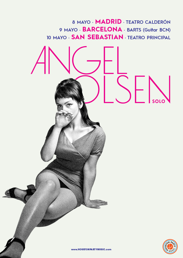 Angel Olsen, gira en solitario en mayo 2018