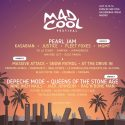 distribución Mad Cool por días