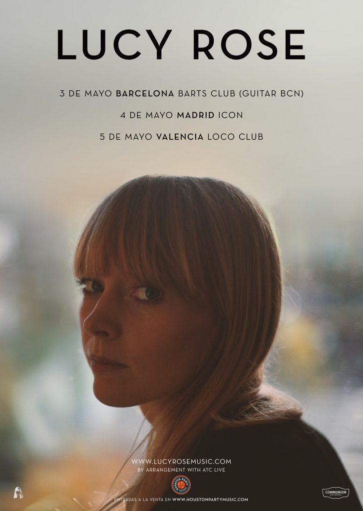 Lucy Rose anuncia fechas de conciertos para Mayo 2018 en Madrid, Barcelona y Valencia
