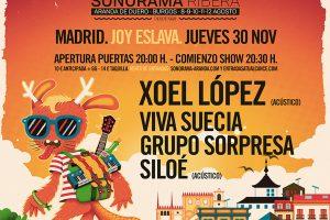 Crónica de la fiesta de presentación Sonorama Ribera 2018 en Madrid . Sala Joy Eslava. Noviembre 2017.