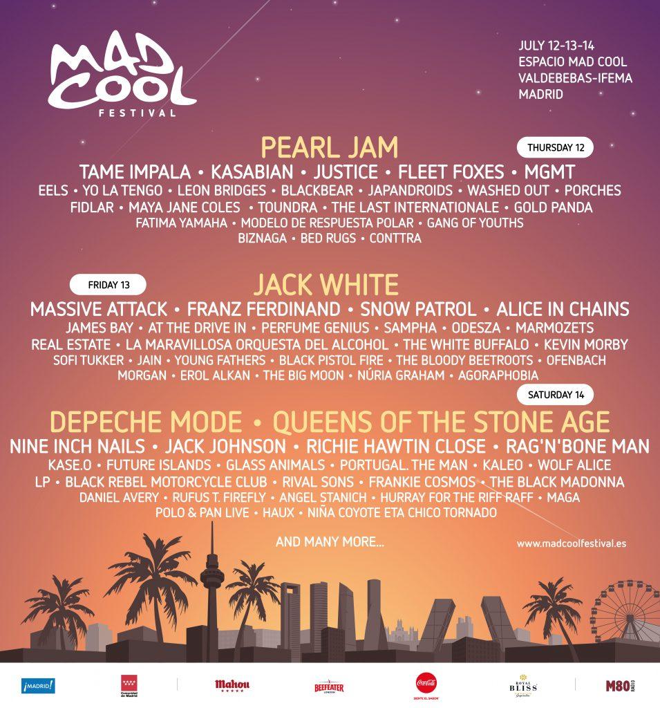 Los 15 nuevos nombres del mad cool