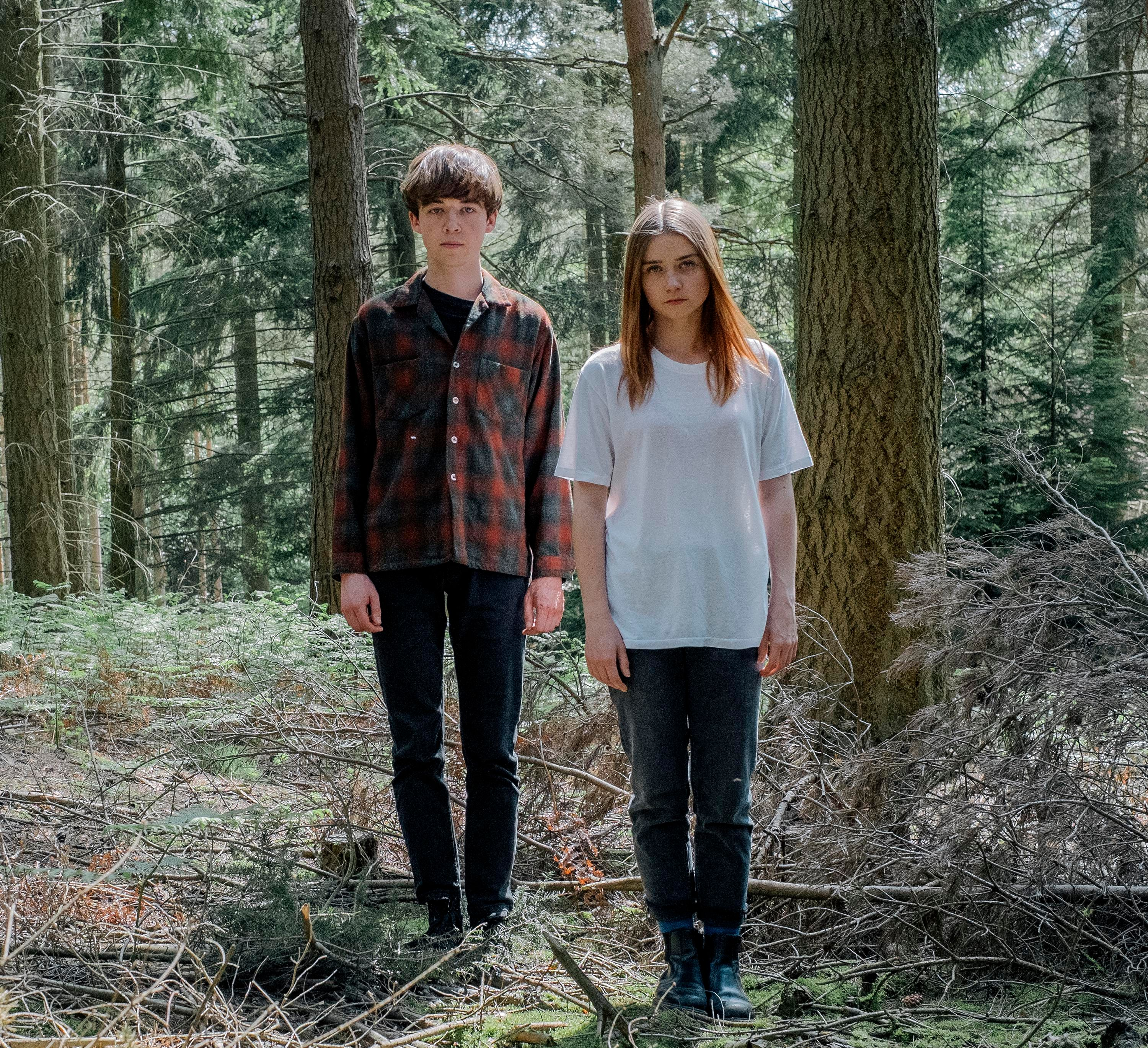 The End Of The F***ing World: - Stars Alex Lawther as James and Jessica Barden as Alyssa.