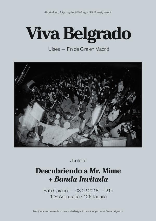 Viva Belgrado cierra gira este sábado en Madrid