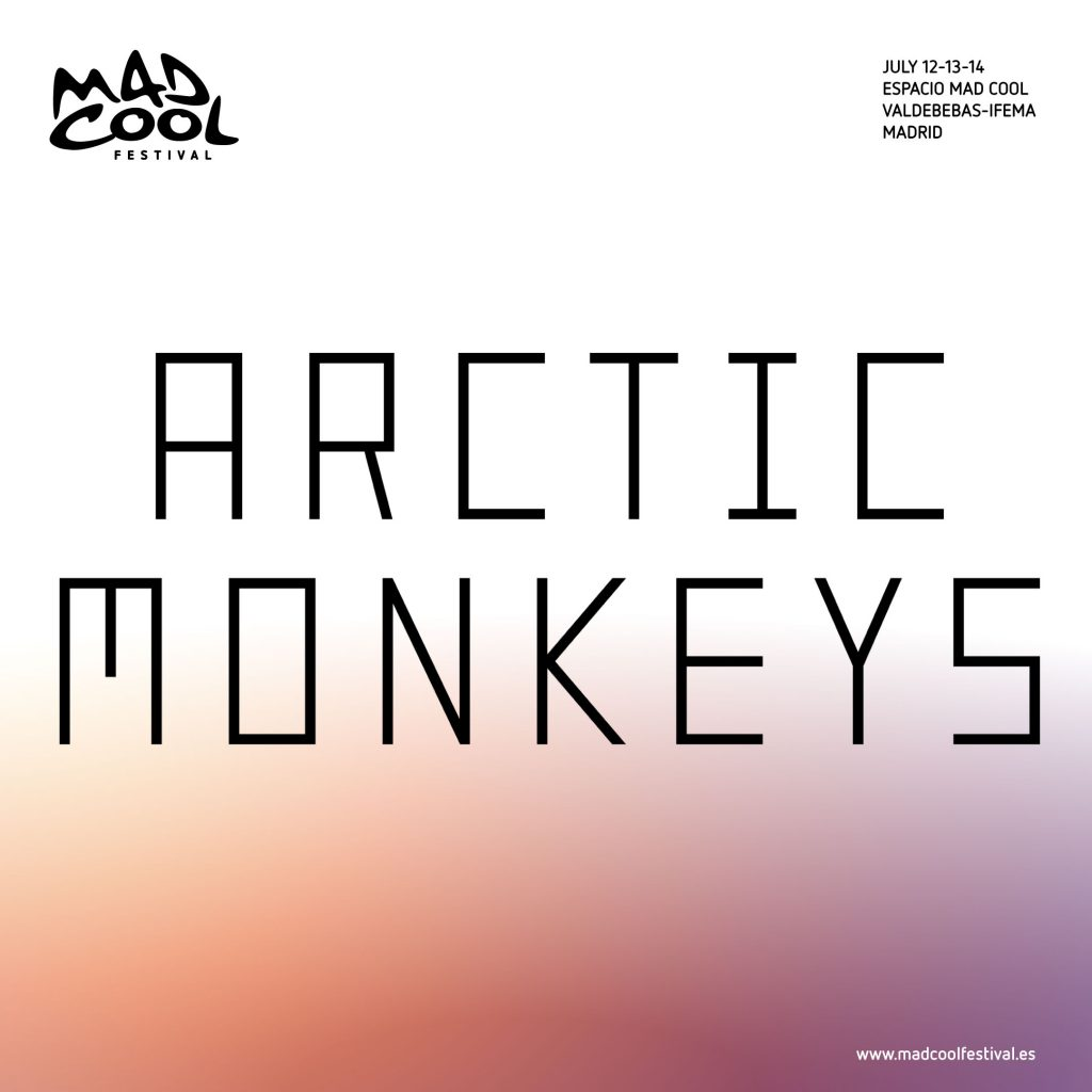 Mad Cool confirma por fín a Artic Monkeys