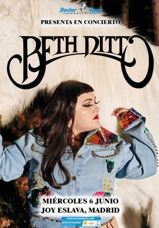 Se ponen a la venta las entradas para ver a Beth Ditto en Madrid