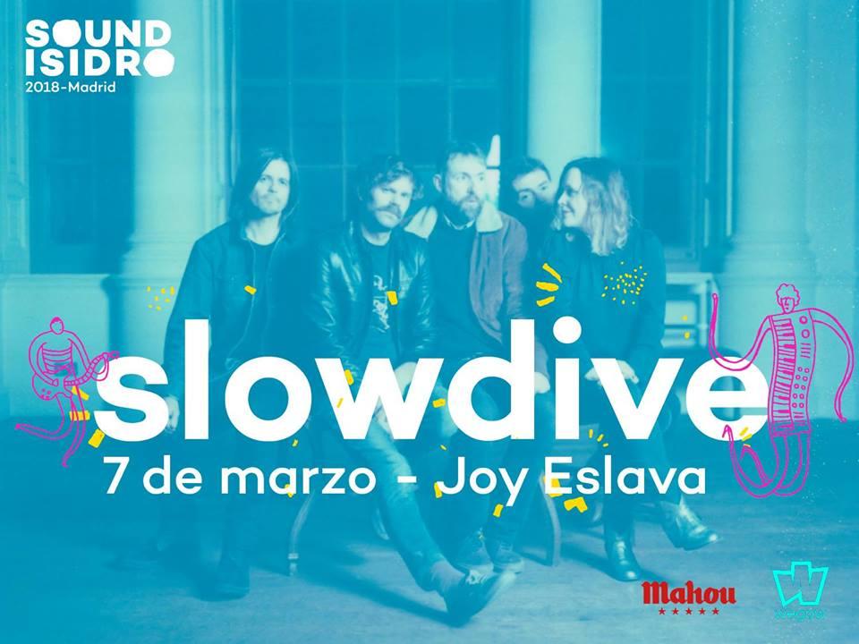 slowdive en madrid el 7 de marzo con Sound Isidro
