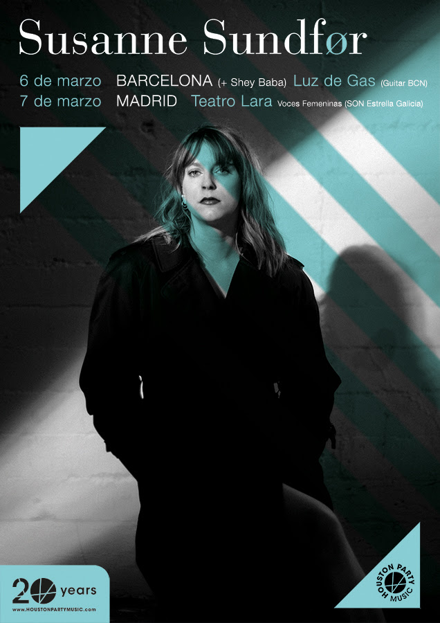 gira de Sussane Sundfor en Madrid y Barcelona
