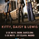 kitty daisy lewis en Madrid y Barcelona presentando Superscope en mayo