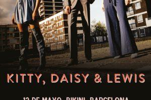 kitty daisy lewis en Madrid y Barcelona presentando Superscope en mayo