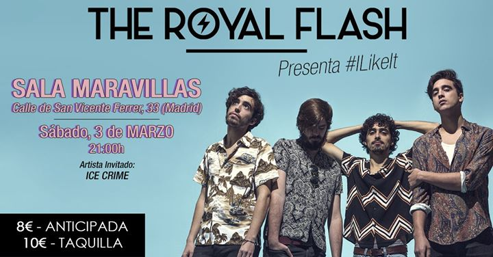 "The Royal Flash estrenan ""I like It"", single adelanto de su nuevo EP"