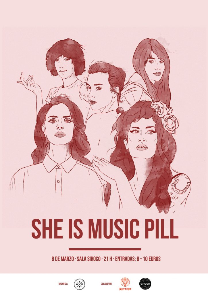 She Is Music Pill: El cartel completo