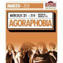 Agoraphobia estarán el próximo 21 de marzo en la sala Moby Dick Club