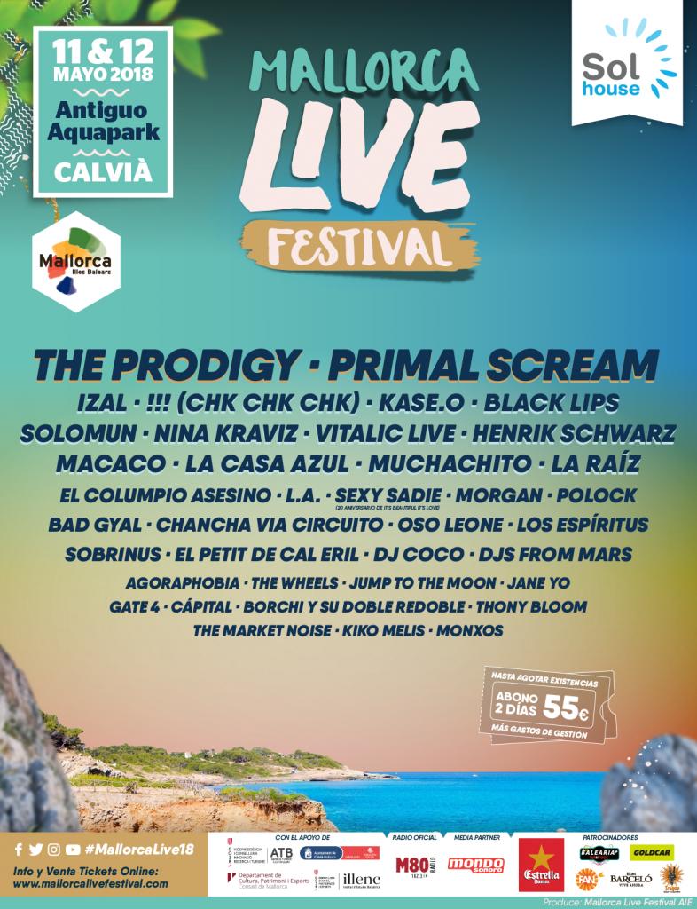 Mallorca live nuevas confirmaciones