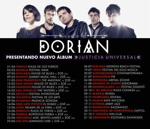 Dorian regresa con nuevo vídeo y fechas de gira