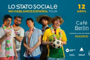 La ironía pop de Lo Stato Sociale por primera vez en Madrid