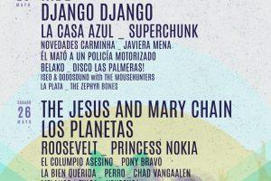 cartel por días del Festival Tomavistas 2018