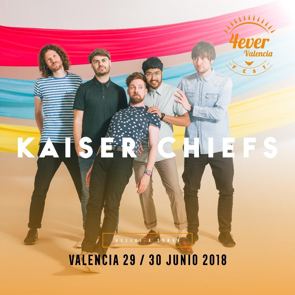 kaiser Chiefs en el 4ever Valencia Fest