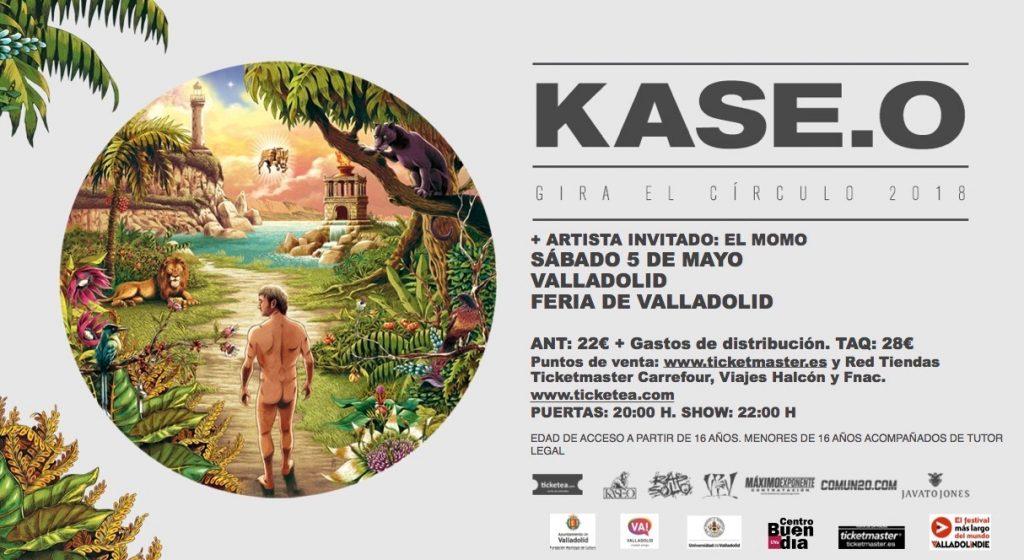 kase. O en Valladolid el sábado 5 de mayo