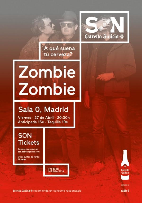 zombie zombie estarán este viernes en Madrid presentando nuevo disco