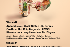 Horarios Paraíso Festival en Madrid 2018