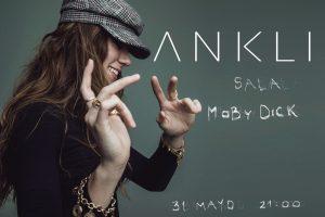 ANKLI en directo en la sala Moby Dick Club en Madrid