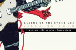 QOTSA presentan Villains en sala en Barcelona en la Razzmatazz