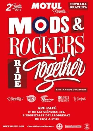 mods and rockers ride together