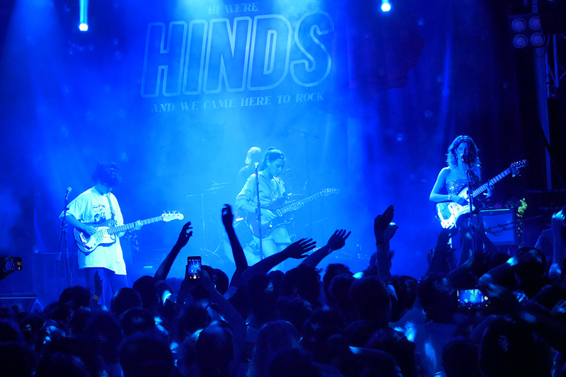 Hinds llenan Joy Eslava con I Don´t Run