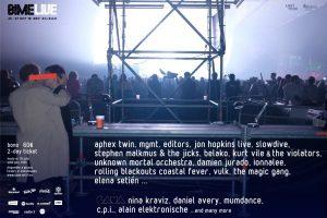 bime live 2018 con MGMT, Editors, Slowdive