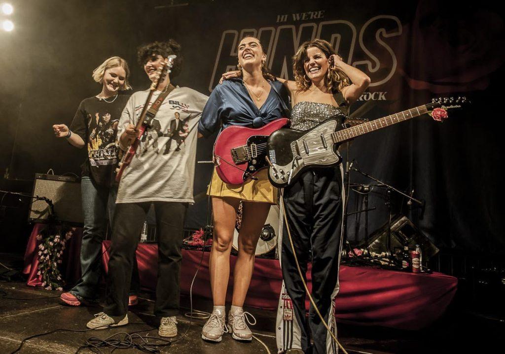 hinds crónica concierto en Joy eslava sound isidro 2018