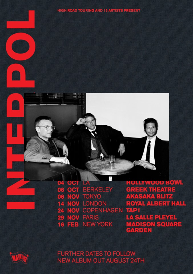 interpol marauder tour