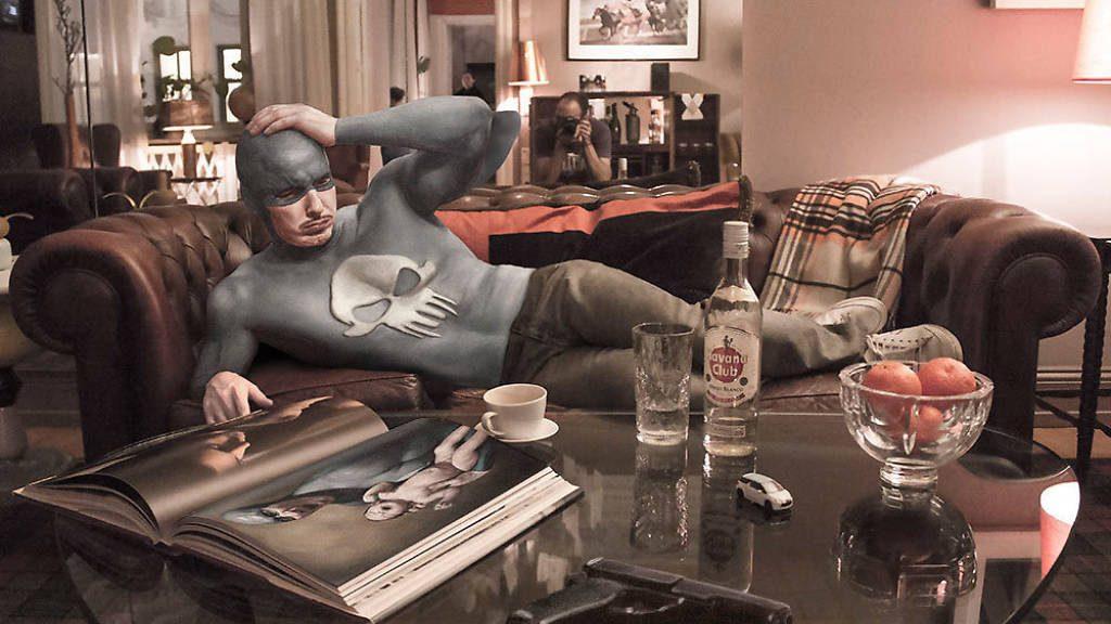 Symbiosis: Artistas superhéroes de Dr. Case en la Fiambrera