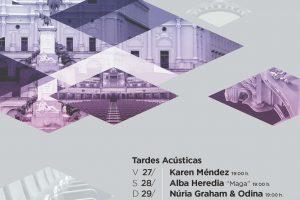 UMF18 - Cartel Tardes acústicas A3