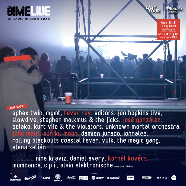 fever ray y josé gonzález al BIME Live 2018