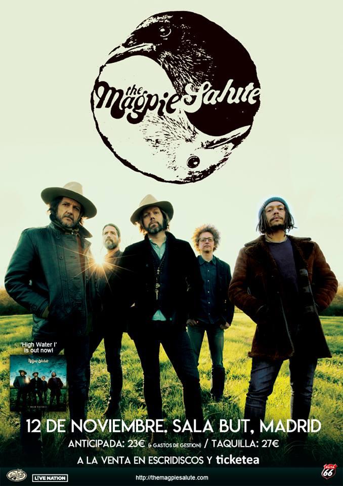 the magpie salute de gira en noviembre