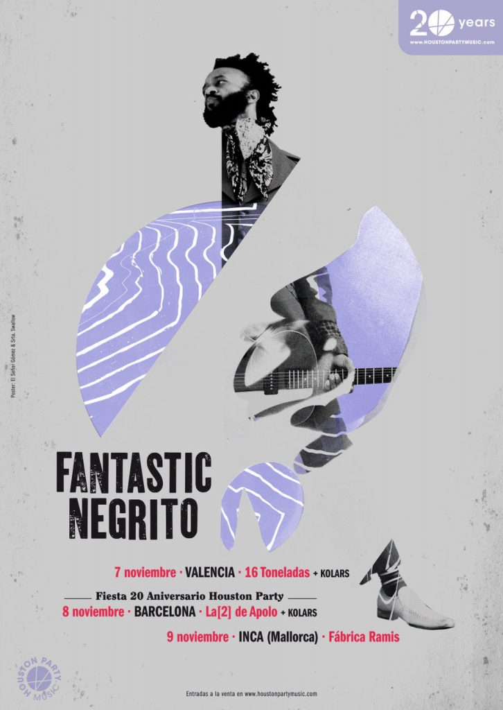 fantastic negrito aniversario de houston party