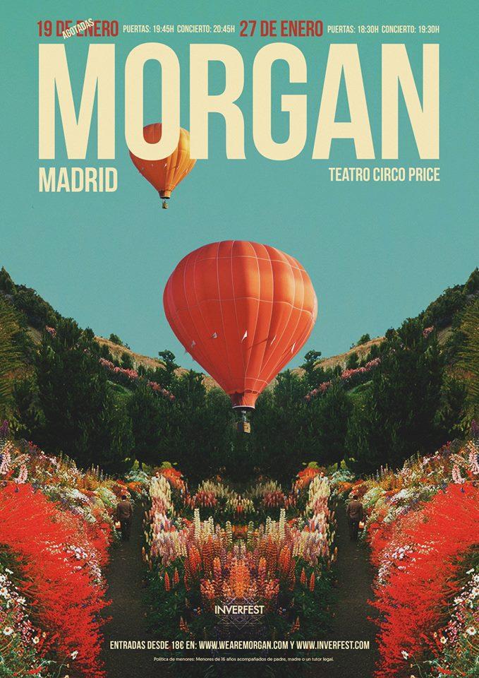 Morgan segunda fecha Madrid