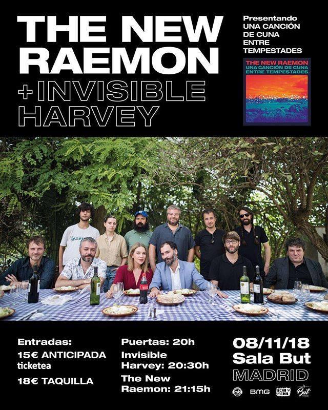 The New Raemon en Madrid