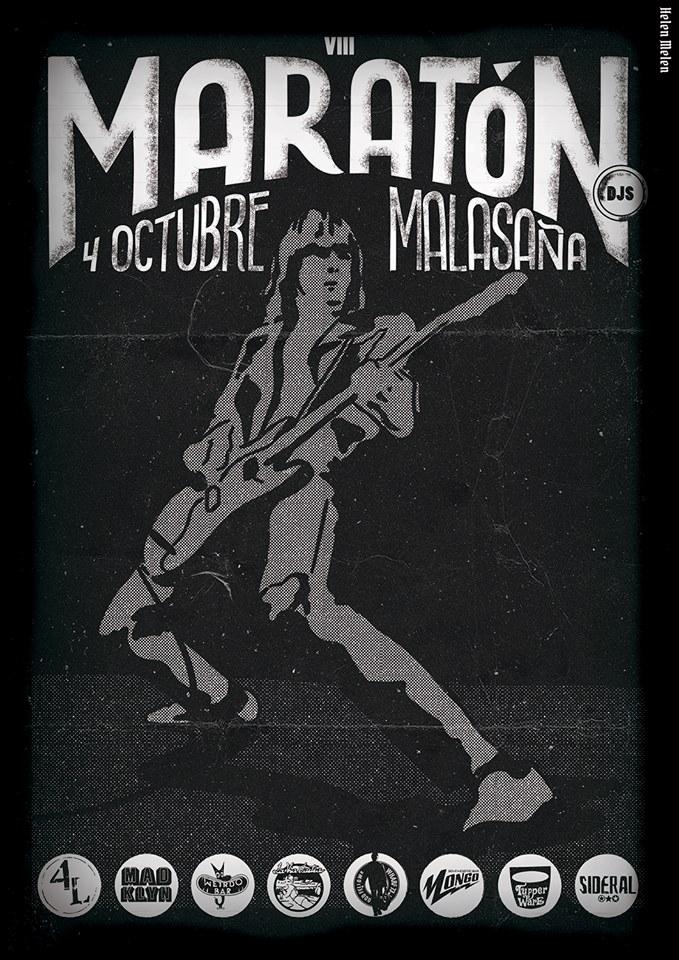 maratón djs malasaña octubre