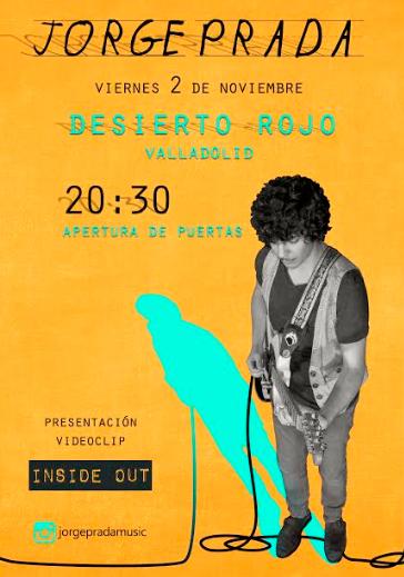 Jorge prada en Valladolid presentando inside out