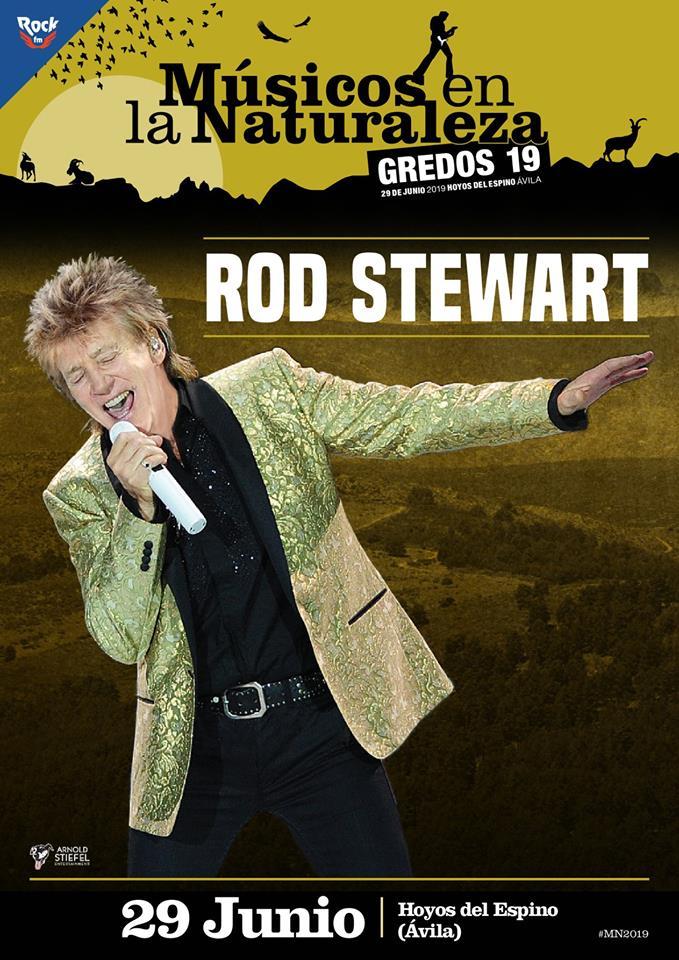 Rod Stewart en Musicos en la naturaleza