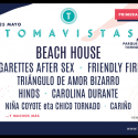 hinds, carolina durante, beach house, cigarettes after sex al tomavistas festival 2019