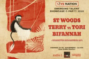 live nation bands en monkey week