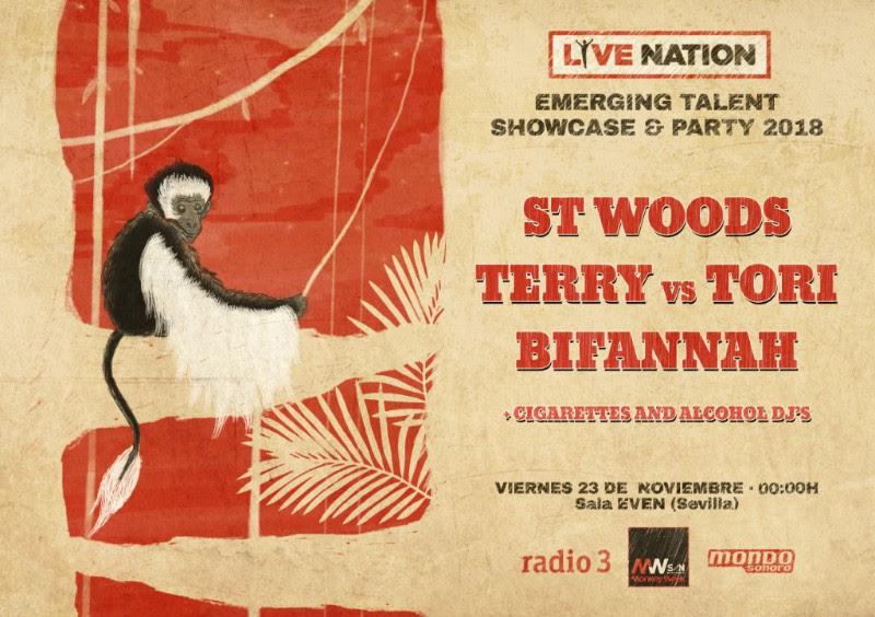 live nation bands en monkey week