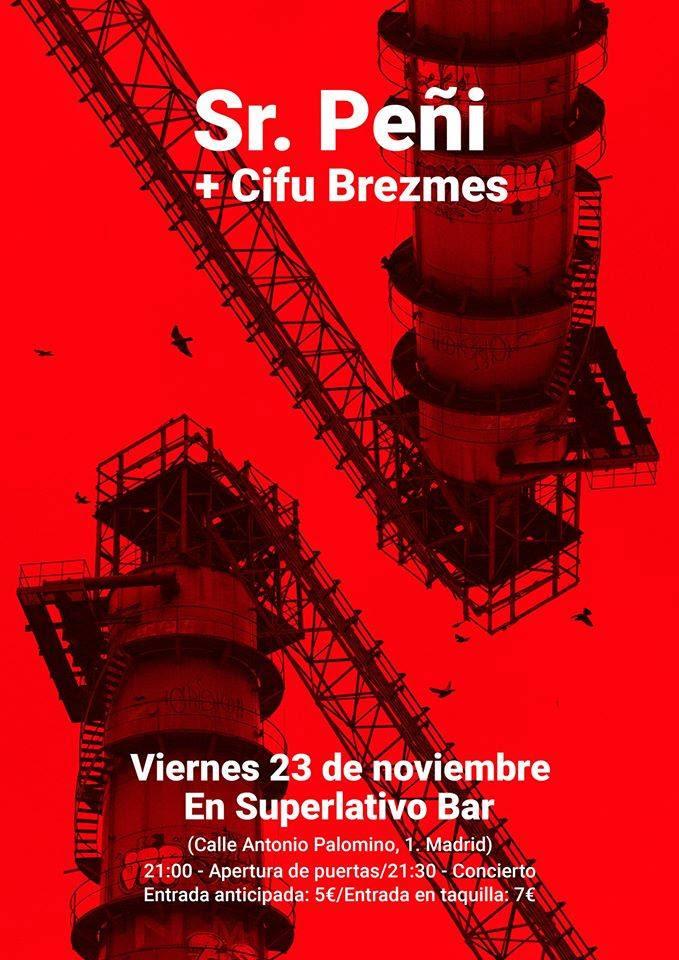 sr peñi y cifu brezmes en superlativo bar el 23 de noviembre madrid