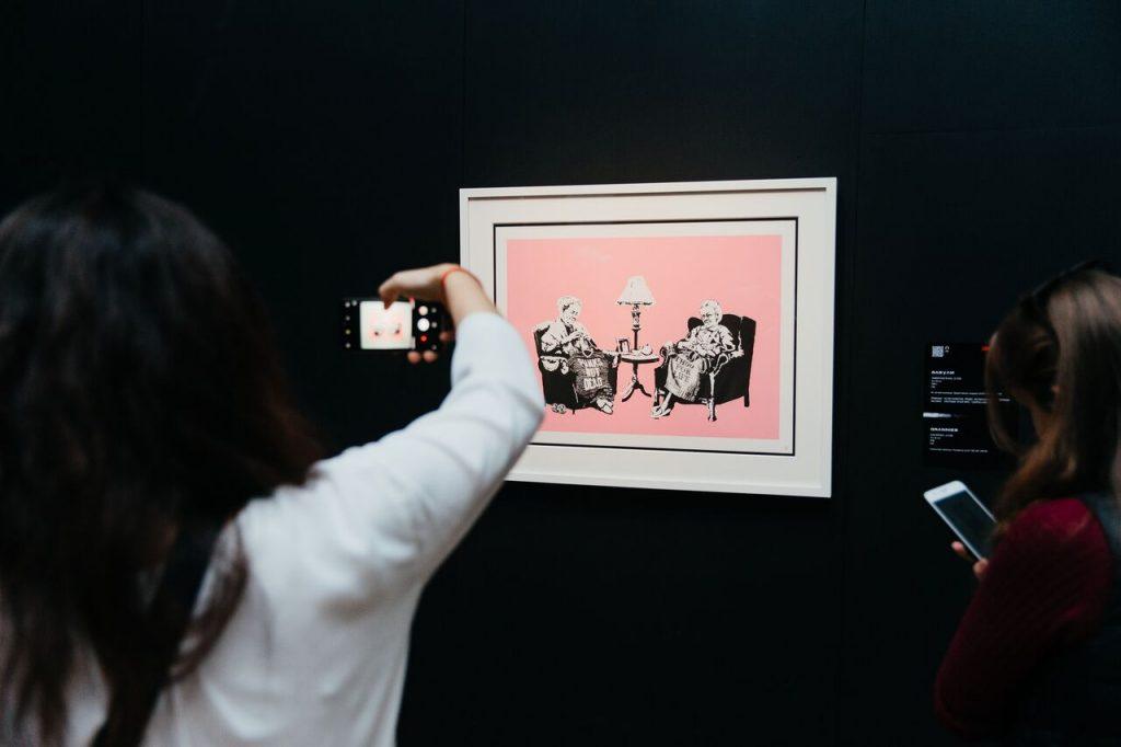 banksy en IFEMA exposición genius or vandal