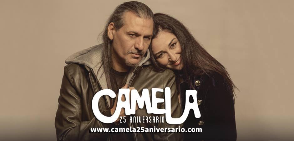 camela 25 aniversario en el wizink center el 12 de abril de 2019