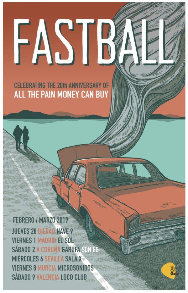 fastball de gira en febrero y marzo