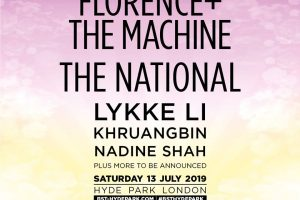 the national, florence and the machine y más se unen al bst