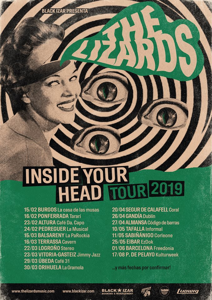 The lizards presentan gira con su nuevo disco inside your head